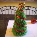 Csináld magad: karácsonyi asztaldísz 3.