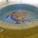 Vendégcikk: mozaik a lakásban