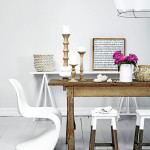 Festékbe mártott bútorok