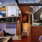 Otthonok a nagyvilágból: kicsi lakás 3 szinten
