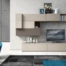 Modern nappali szekrényfalak