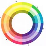 A színek- színelmélet a színkör segítségével