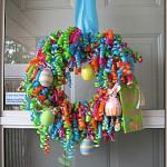 Csináld magad: húsvéti ajtókoszorú