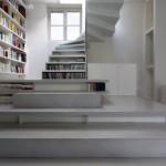 Otthonok a nagyvilágból: fehér loft Párizsban