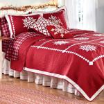 Karácsonyi csillogás a hálószobában