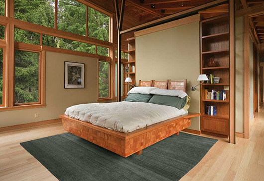 Architectural Luxury Wooden House Design Ideas Bedroom Decorating