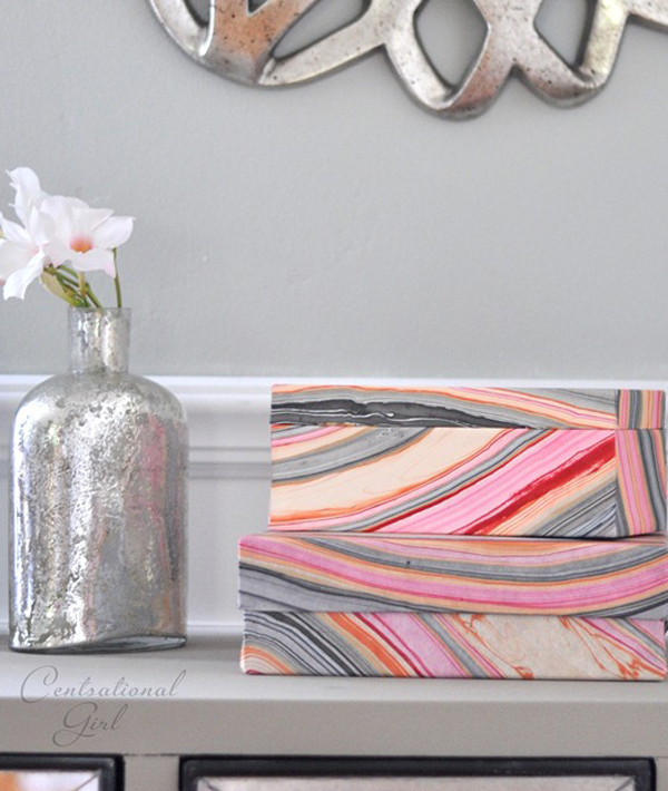 Decorative-wallpaper-storage-boxes