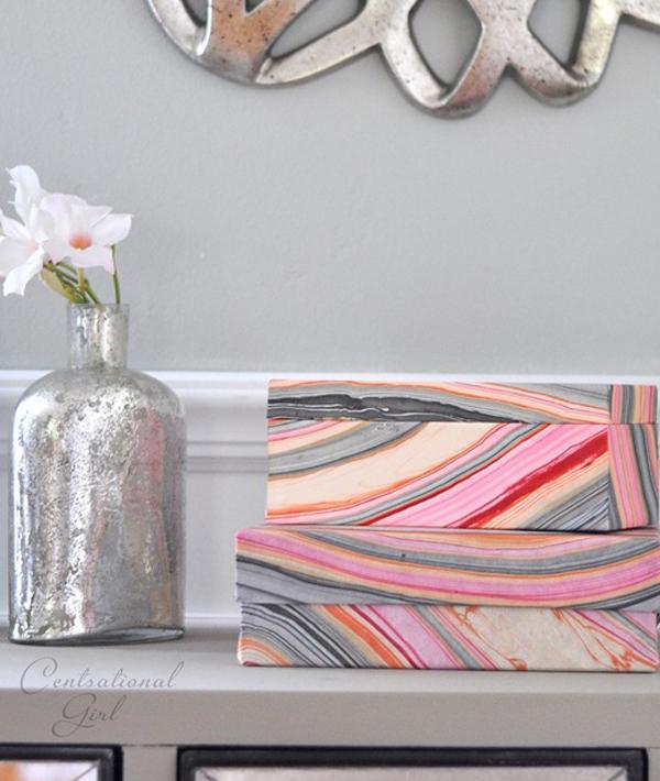 Decorative-wallpaper-storage-boxes