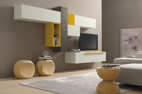 Modern nappali szekr nyfalak dettydesign lakberendez s - Ikea muebles modulares ...