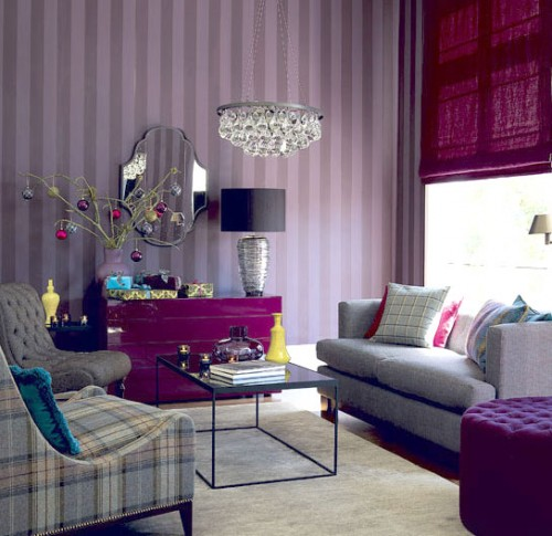 Purple-Interior-Design