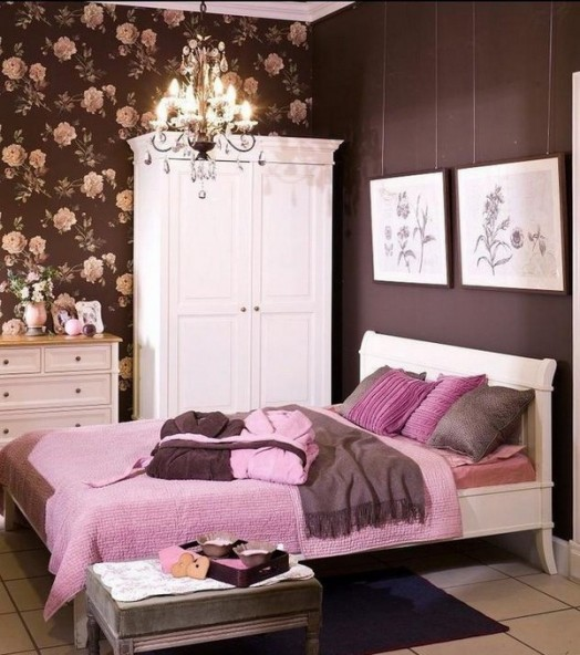 Stylish-Brown-And-Pink-Girl-Room-Design-1-524x592