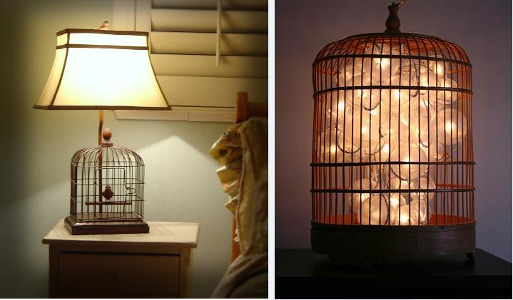 birdcage lamps