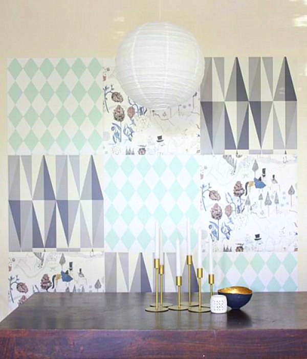 diy-wallpaper-mosaic