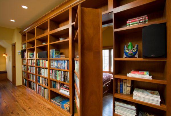 Rejtett könyvespolc