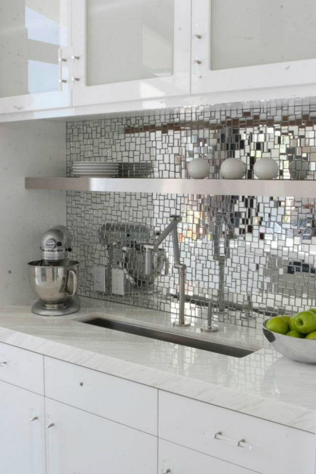 mirror-mosaic-kitchen-backsplash