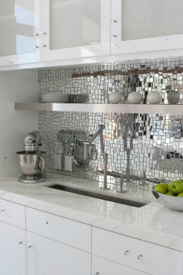 mirror-mosaic-kitchen-backsplash