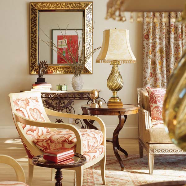 red-brown-color-living-room-furniture-upholstery-curtain-fabric