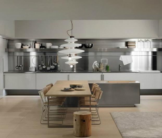 steel-kitchen-backsplash