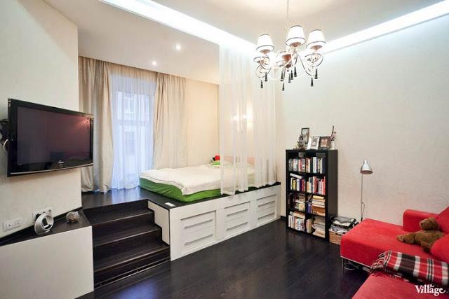 Otthonok a nagyvilágból: egyszobás apartman St. Petersburgból