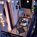 Így válhat a pici erkély otthonossá